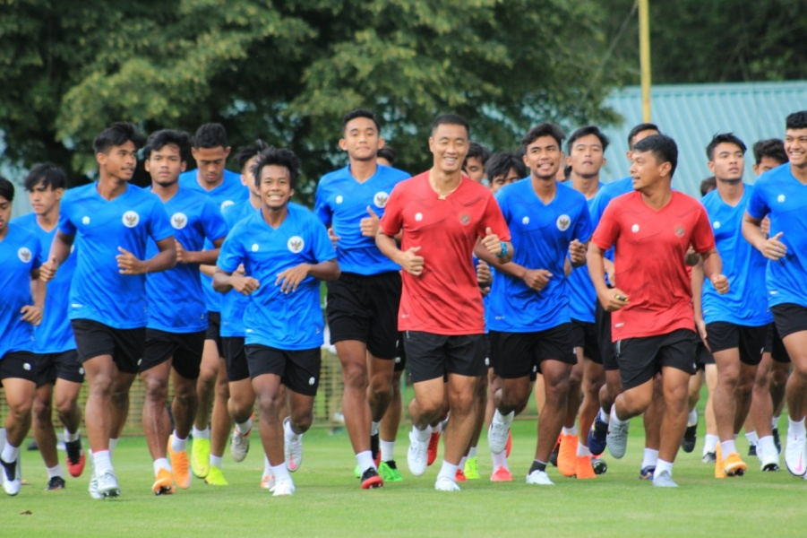 Timnas Indonesia U-19 di Kroasia. (PSSI).