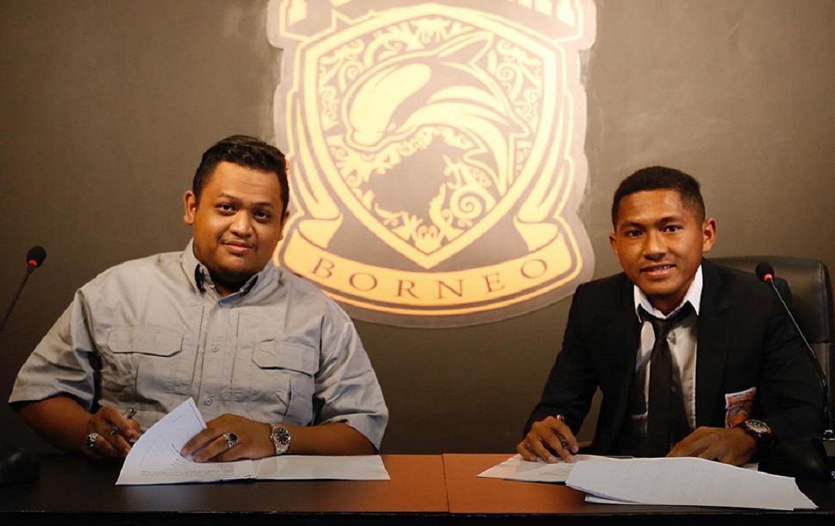 Fajar Fathur Rahman resmi bergabung Borneo FC. (Dok. Borneo FC).
