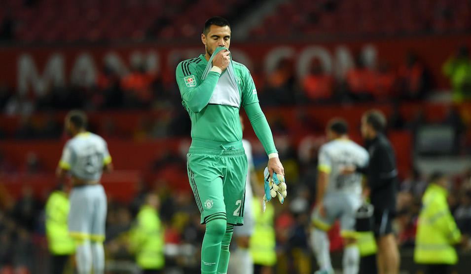 Manchester United v Derby County – Carabao Cup Third Round