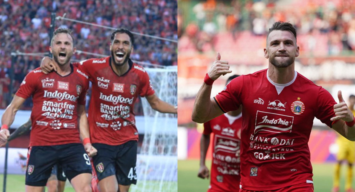 Bali United dan Persija