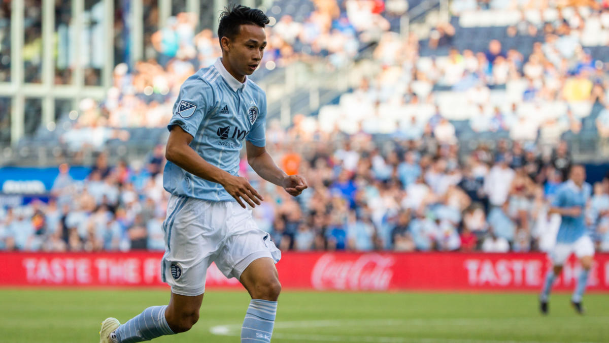 MLS: Columbus Crew at Sporting KC