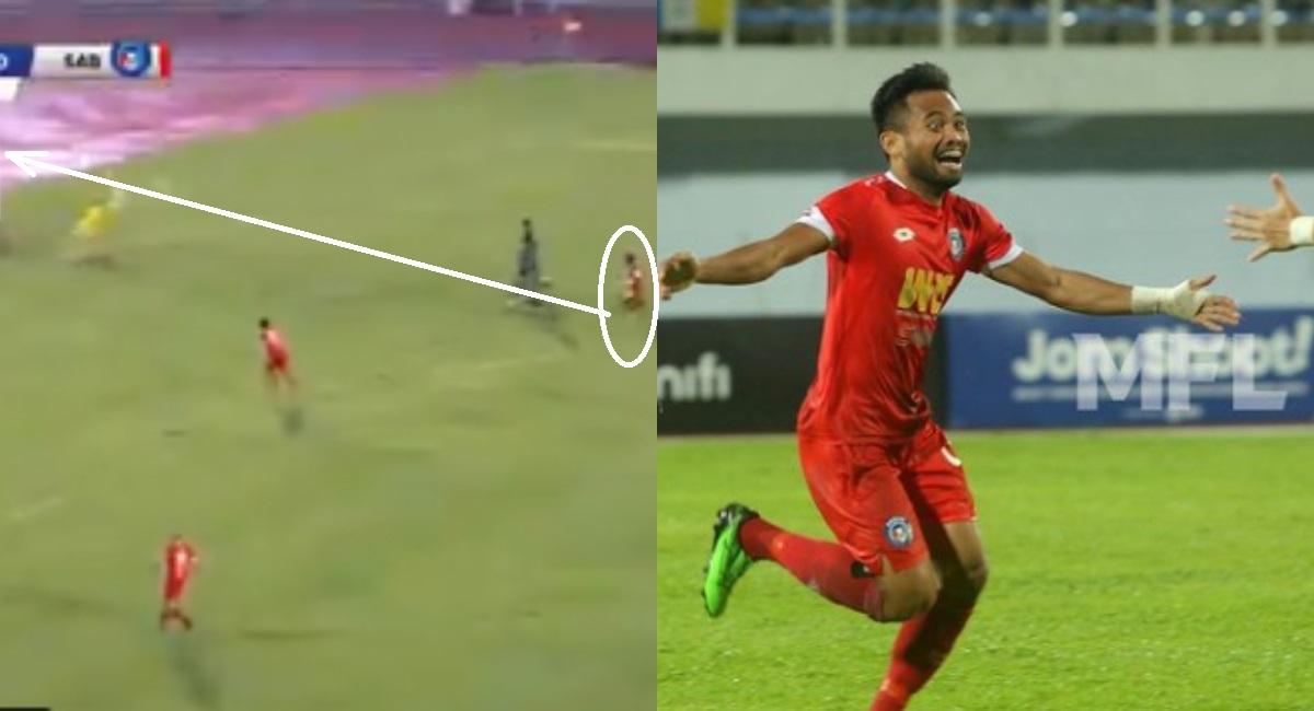 Pemain Sabah FC Saddil Ramdani