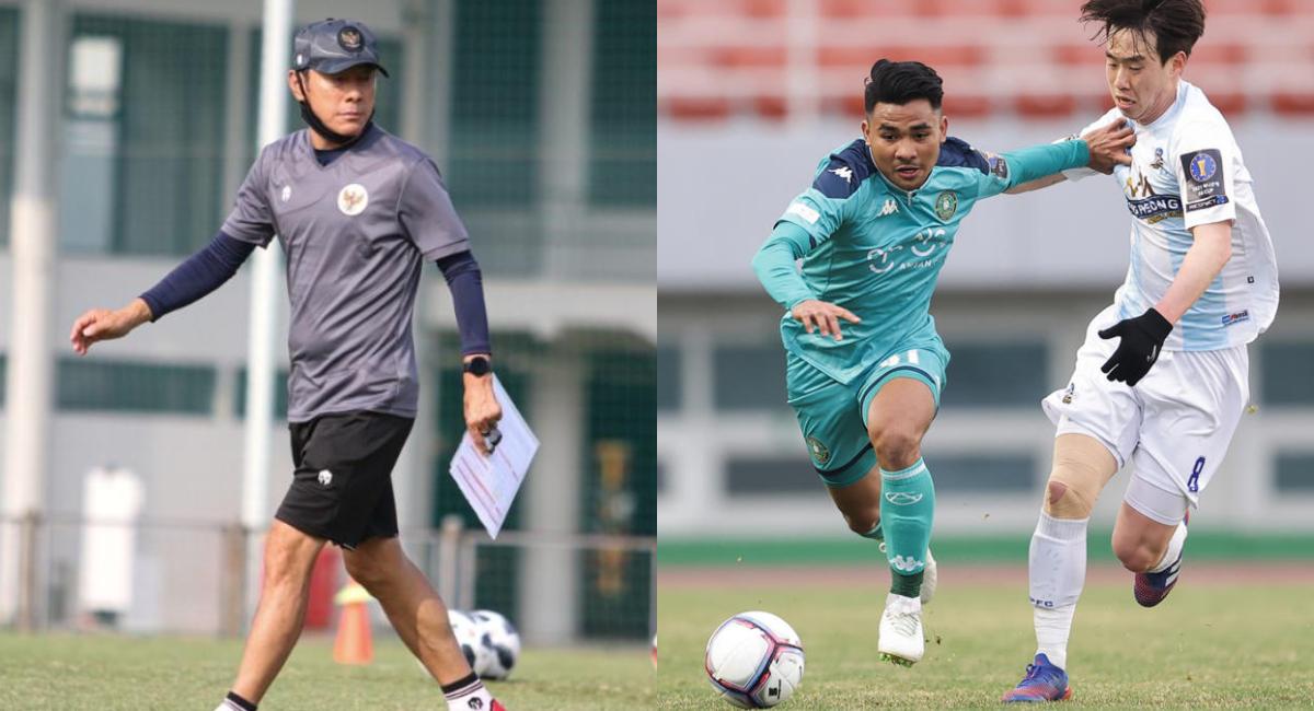 Shin Tae-yong dan Asnawi Mangkualam