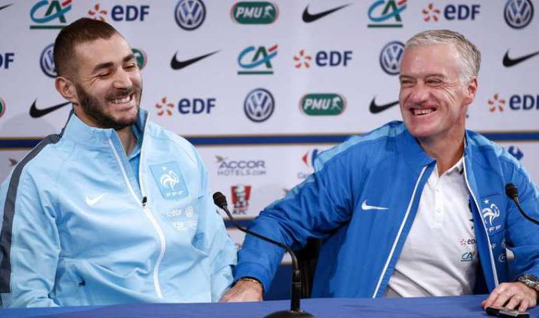 Karim-Benzema-and-Didier-Deschamps