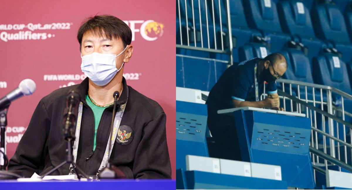 Shin Tae-yong dan Park Hang seo